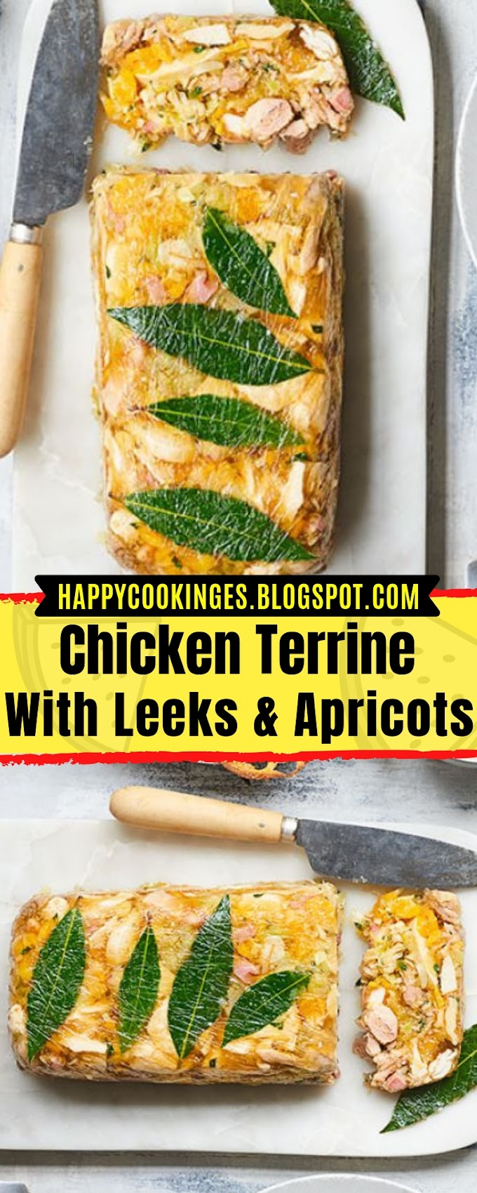 Chicken Terrine With Leeks & Apricots
