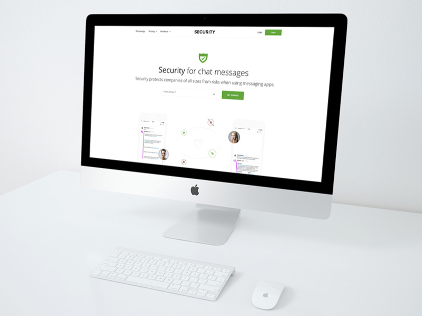 Free Security Website Template