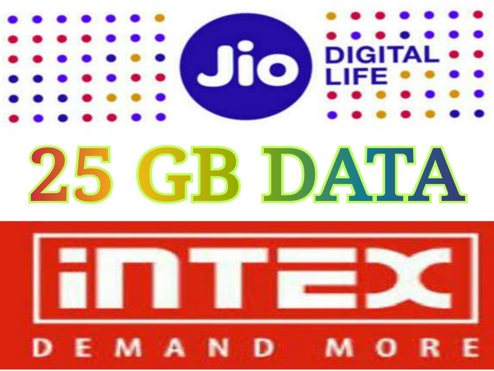 Jio 25 GB Data
