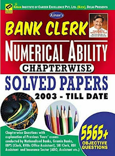 Numerical ability chapterwise solved paper by kiran
