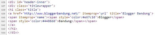 Cara Membuat Judul Blog Menjadi Dua Warna Tanpa JavasScript