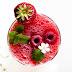 Erfrischender Melonen-Himbeer Frose` - der ideale Sommerdrink