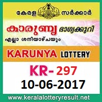 Karunya Lottery KR-297 Results 10-6-2017