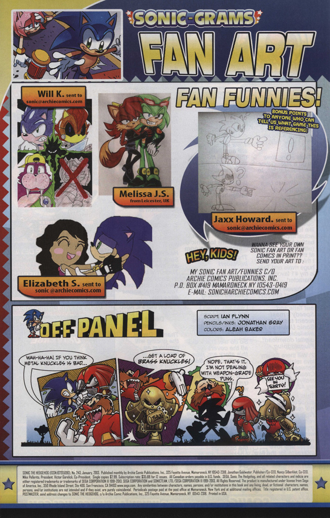 Read online Sonic The Hedgehog comic -  Issue #243 - 33