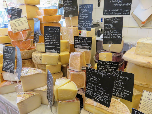 Summer in Edinburgh: Buy cheese for a picnic at  I. J. Mellis Cheesemongers in Stockbridge