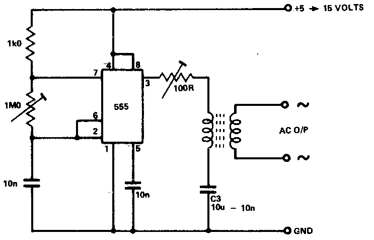 Secret Diagram: Inverter as High Voltage Low Current