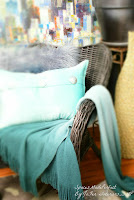 A Rattan Wicker chair refinished for indoor use,Fernando & Johanna