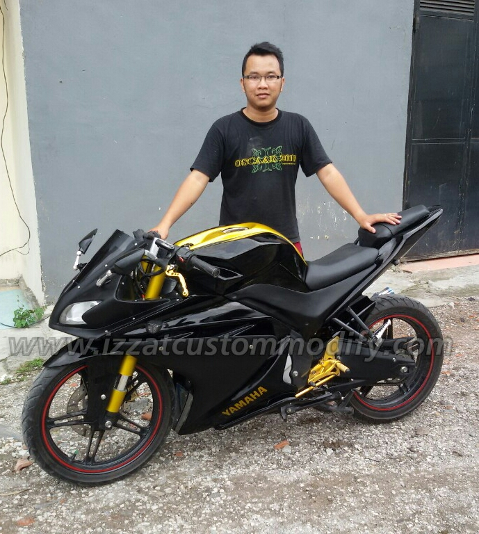 Bodykit Model R125 To New Vixion Izzat Custom Modify