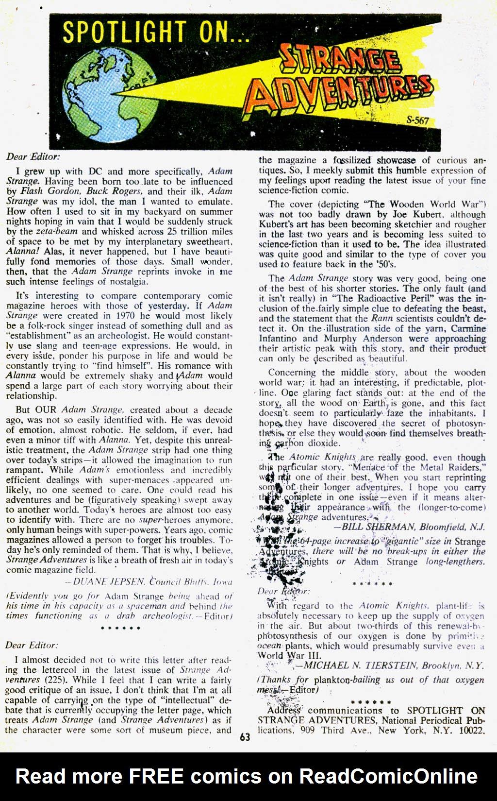 Strange Adventures (1950) issue 227 - Page 64