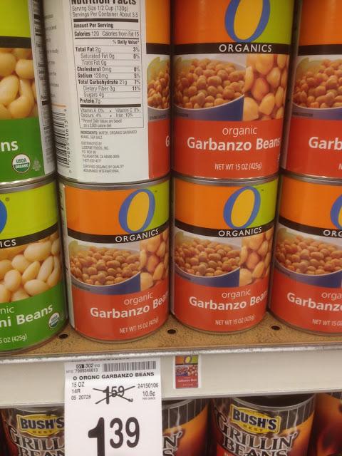 Garbanzo Beans, Organics - Safeway