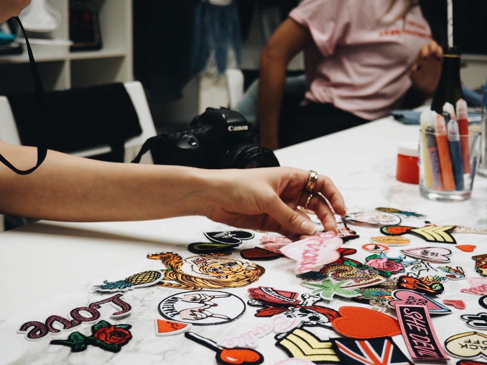 Game nail color workshop - Denim Workshop With Boohoo