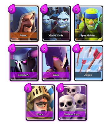 Clash Royale Deck Arena 5 (Soo Strong)
