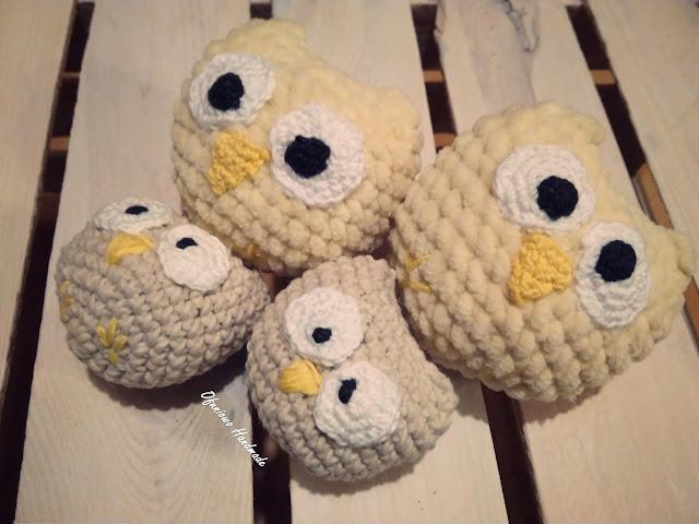 Crochet owls - Ofuniowo Handmade