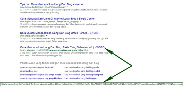 tracking yang dilakukan Google untuk menentukan CTR