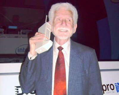 The telephone and radio were two of the greatest inventions of the late  Martin Cooper: Developer of The Cell Phone