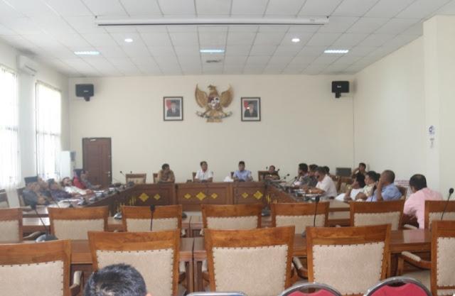Rombongan Badan Anggaran DPRD Muba Kunker ke DPRD OI
