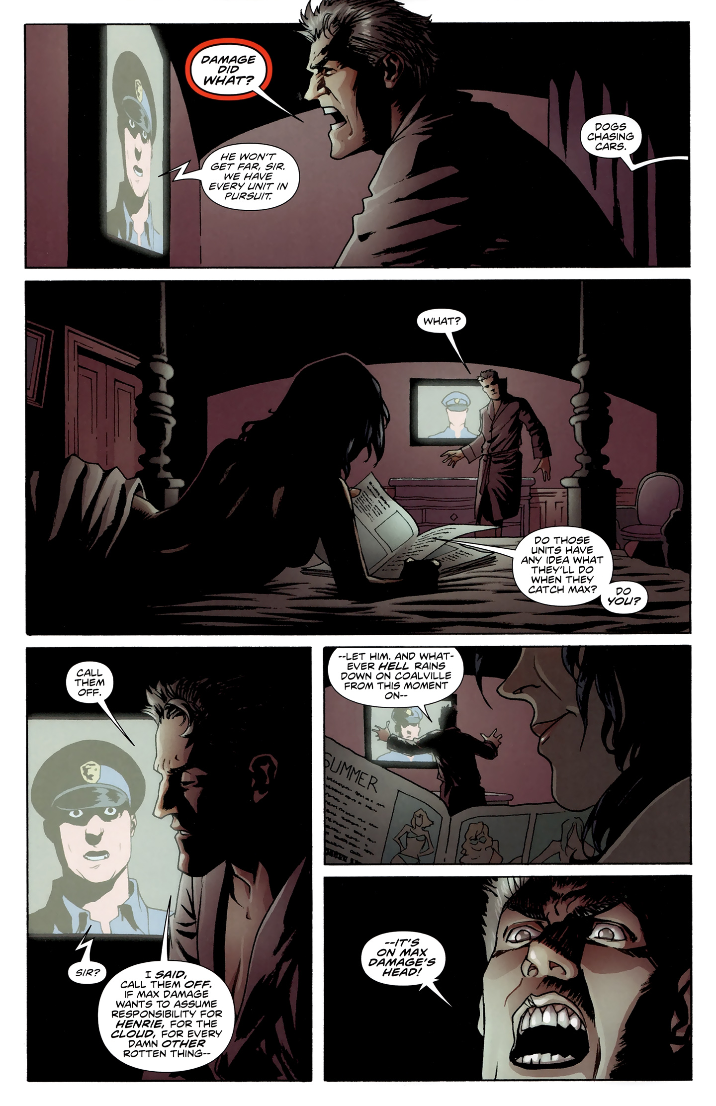 Read online Incorruptible comic -  Issue #28 - 17