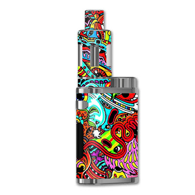 Acid trippy Sticker For iStick Pico