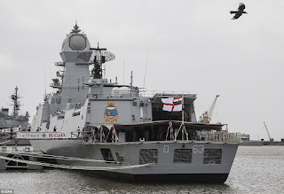 Kolkata-built naval ship commissioned.