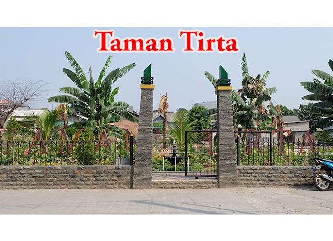 Taman Tirta Bekasi, taman kecil di tapal batas