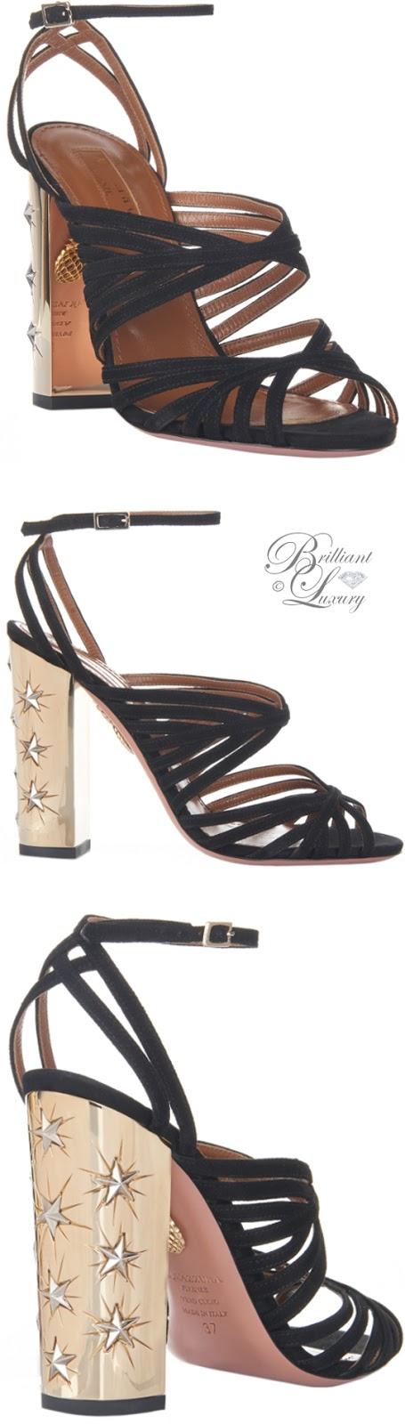 Brilliant Luxury ♦ Aquazzura Trinitiy Sandals