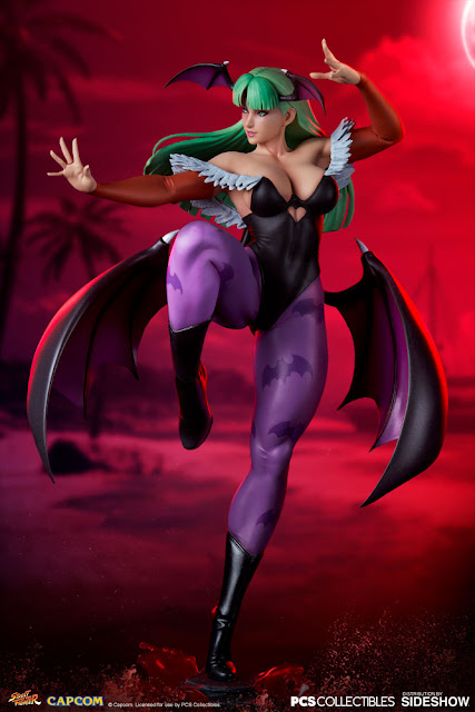 Figuras: Increíble Chun-li: Morrigan Outfit Ver. de Street Fighter V - Sideshow Collectibles