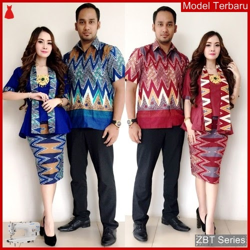 ZBT13509 Kebaya Batik Couple Salma Pendek Yogyakarta BMGShop