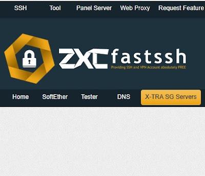 Begini Trik dan Cara Membuat Akun SSH x-sgdo dari Fastssh 7 Hari Gratis