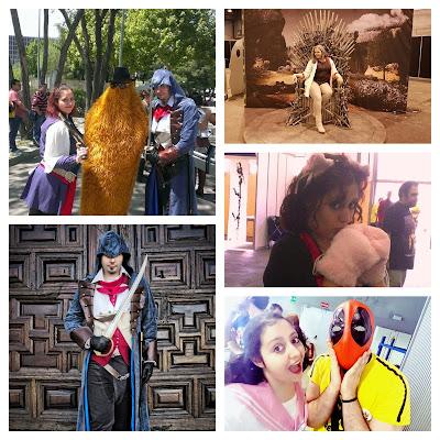Cosplay, assasins creed, izombie, anime, comic con, japan weekend, madrid otaku