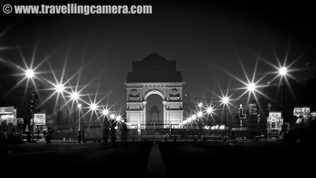 """India Gate is that one place in Delhi that symbolizes patriotism, the """"coolness"""" factor, the common man, and the top bureaucracy, peace, and struggle, all at one go?"""