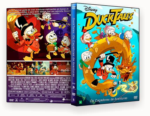 DVD – DuckTales Os Caçadores de Aventuras 2018 – ISO