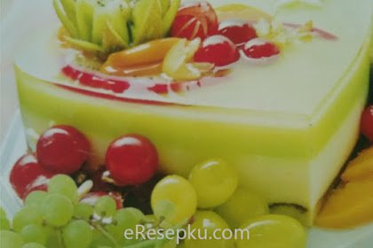 Resep Honey Green Pudding