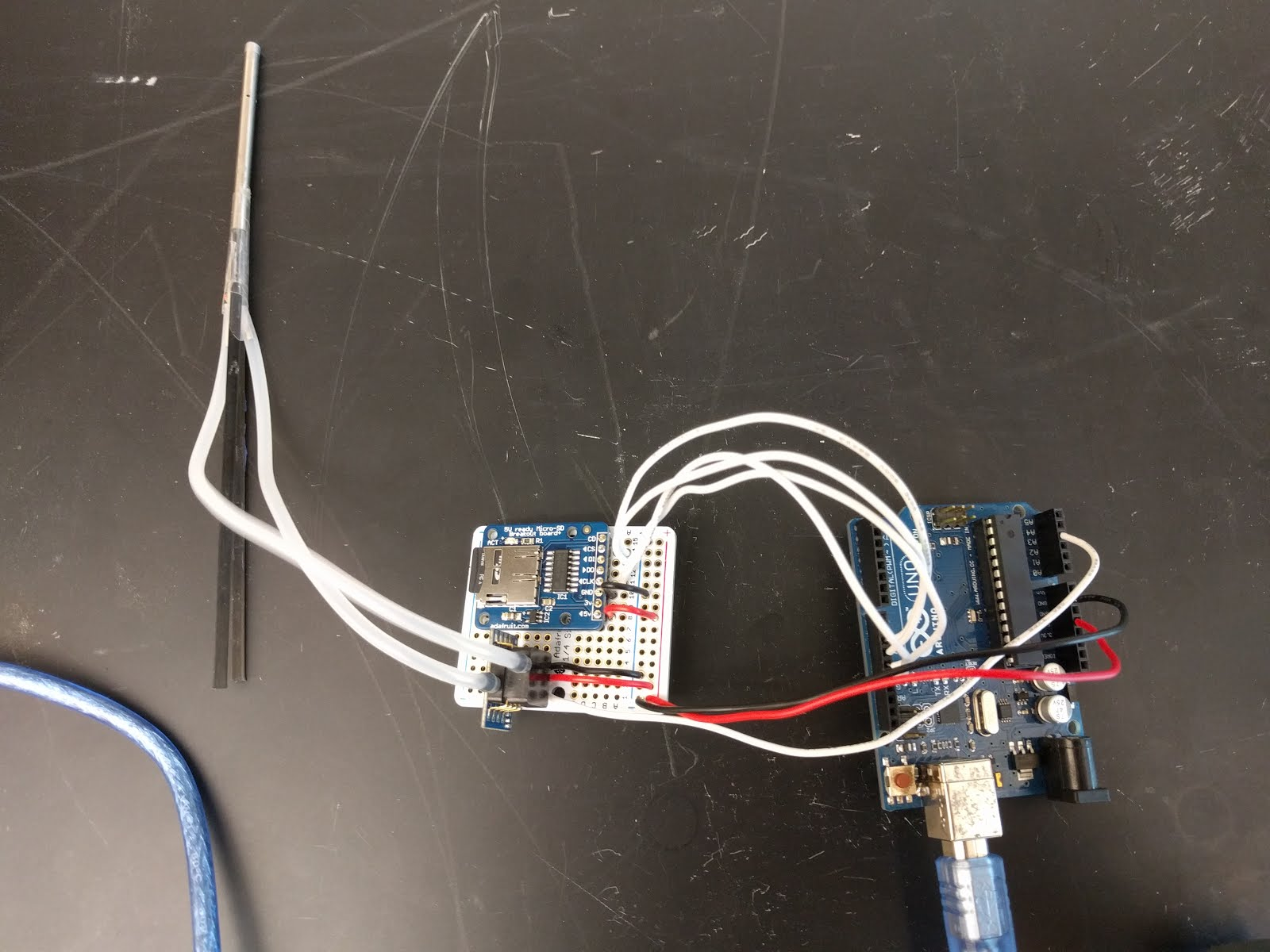 Wiring Arduino Processing Pitot Tube Diagram And Data Fast Lab Tutorials The For Circuit Completed Is Shown Above Theres Not Much Too It Plug In Silicon Tubes Make Sure To Watch This
