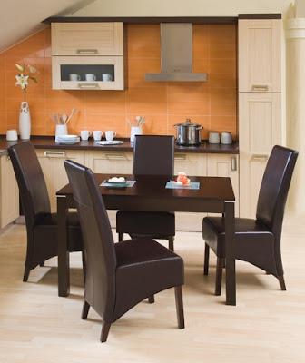 modern asztalok és székek