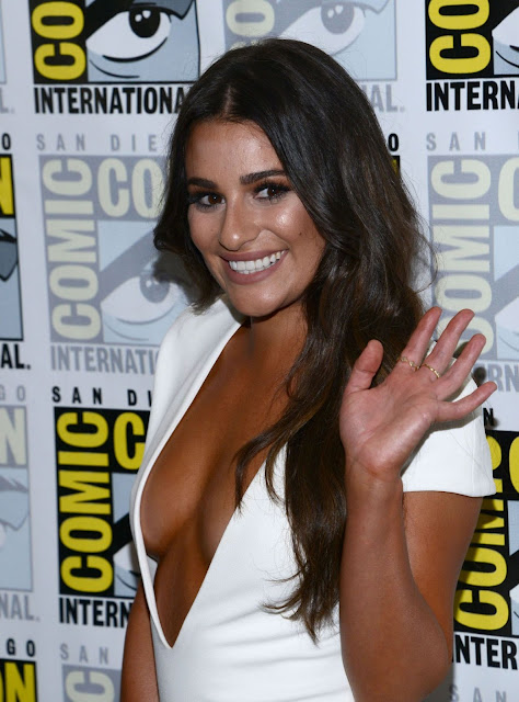 Lea Michele – 'Scream Queens' Press line at Comic-Con in San Diego