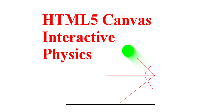 HTML5 Canvas Ball Physics Interactive Example
