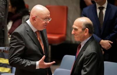Resolución EEUU en la ONU vetada por rusos y chinos