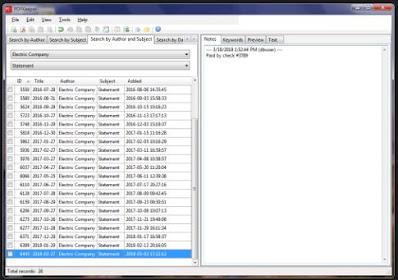 برنامج, مميز, لتحميل, وفهرسة, مستندات, PDF, والبحث, عنها, PDFKeeper