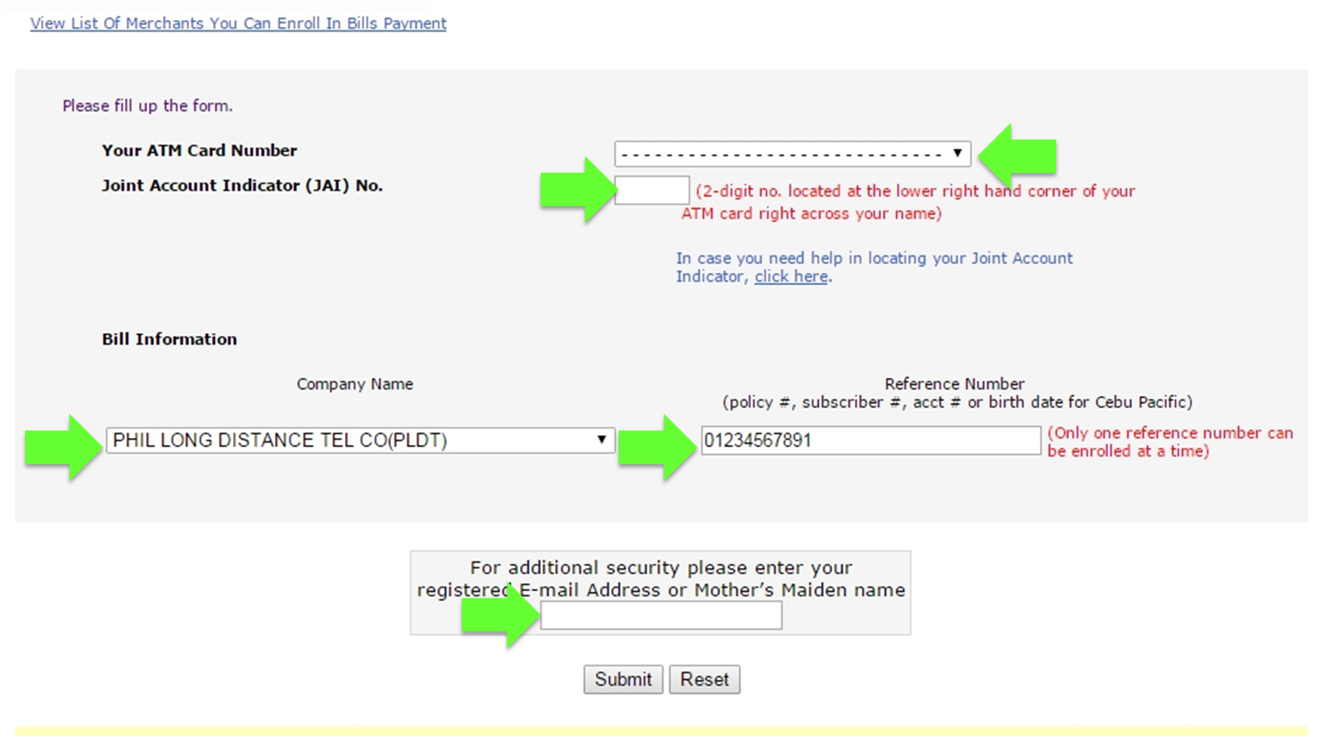 How to Pay PLDT Bill Using BPI Express Online?