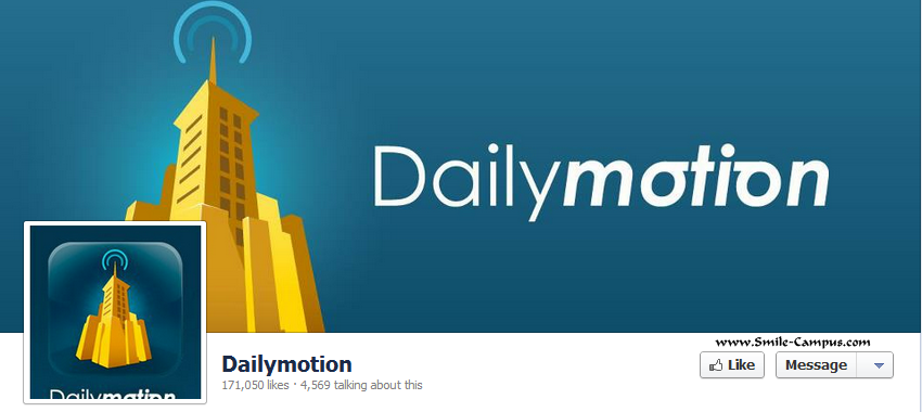 Dailymotion.com Facebook Timeline Page