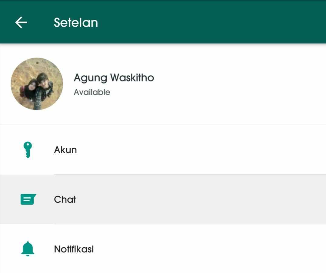 Cara mengetahui orang yang sering chat dengan pacar kamu di WhatsApp 2