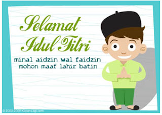 Gambar Ucapan Selamat Hari Raya Idul Fitri
