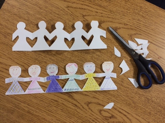 My Students and I Played with Paper Dolls the Other Day