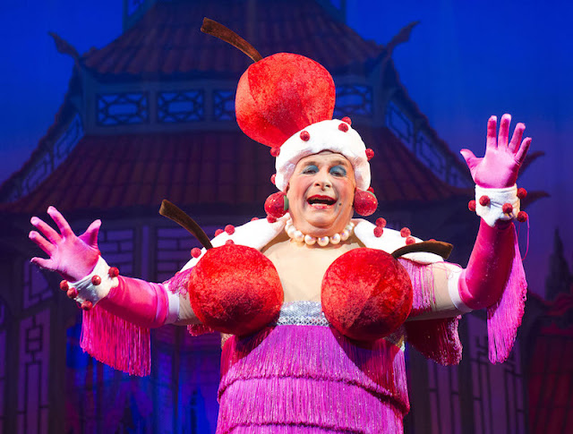 Christopher Biggins as Widow Twankey in Aladdin.