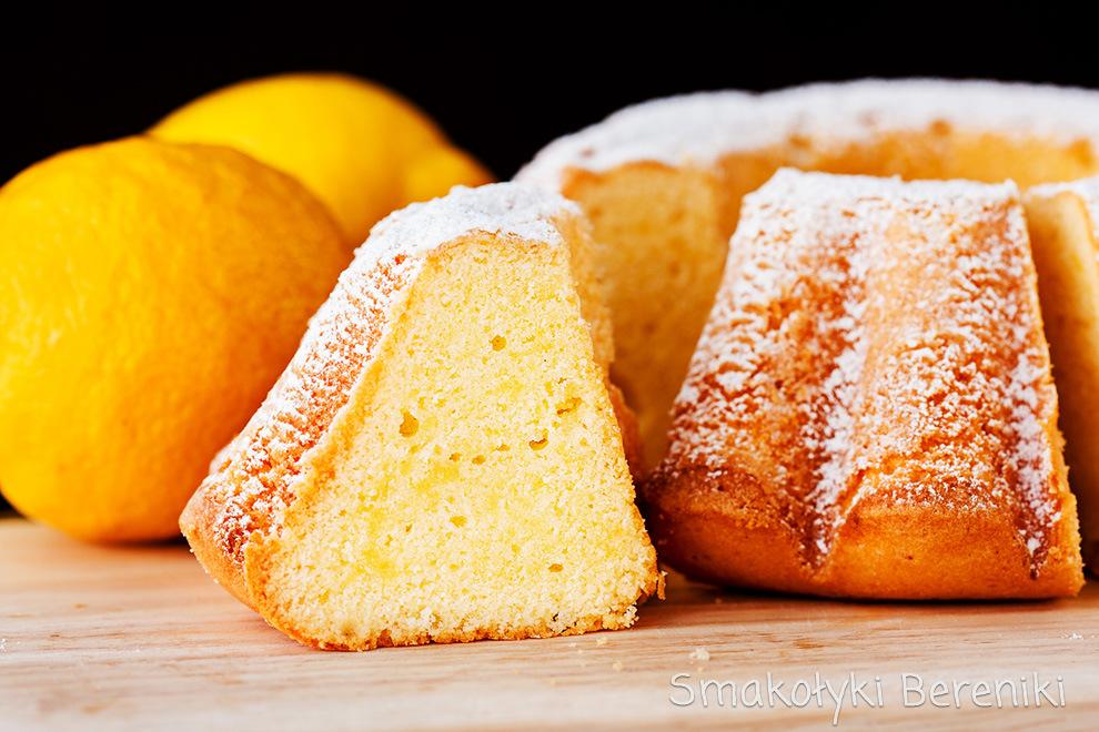 ciasto ucierane cytrynowe