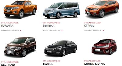 Daftar Harga Semua Mobil Honda Nissan Terbaru Dan Update Car Shop-Mei 2017