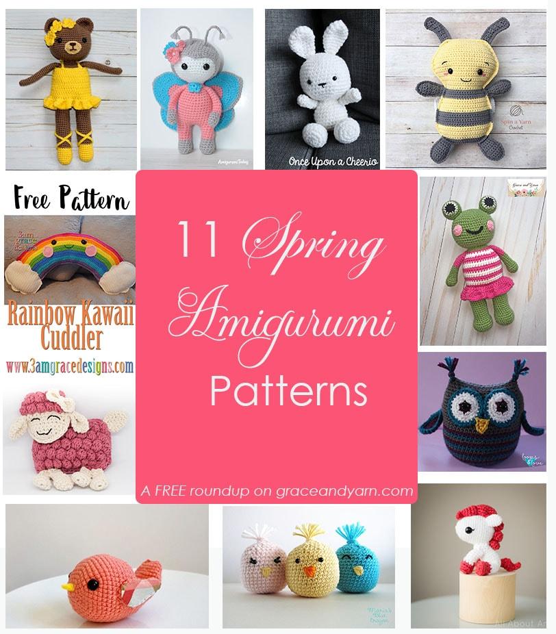 Amazon.com: Crochet Kit - Bunny Family - Amigurumi Kit: Handmade | 926x812