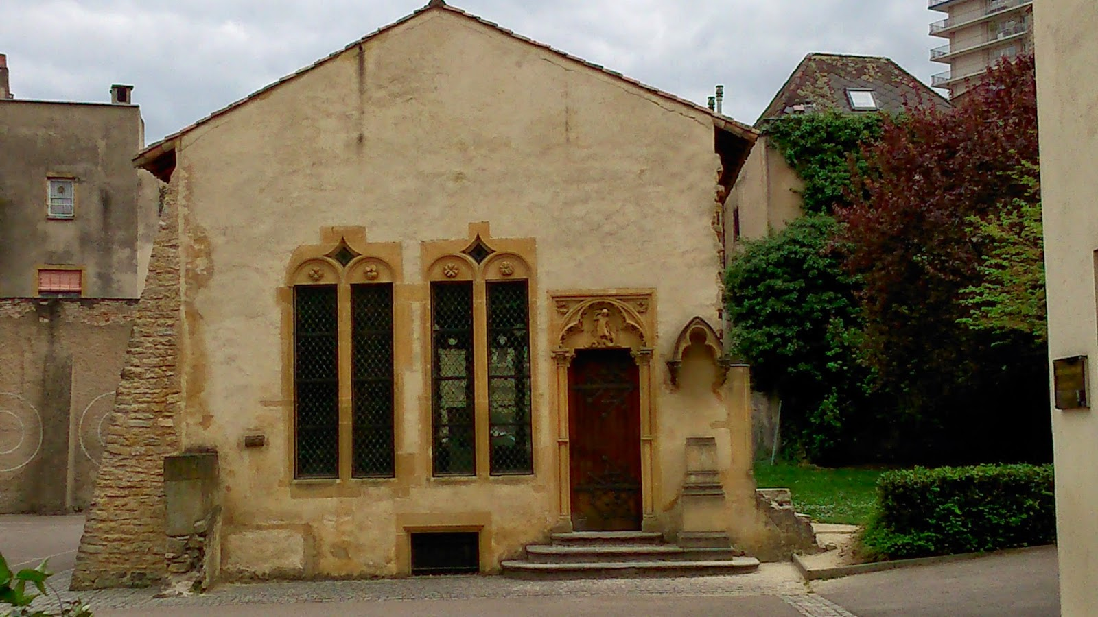 A la d couverte de notre patrimoine entre la place saint louis et la gare - Hotel particulier metz ...