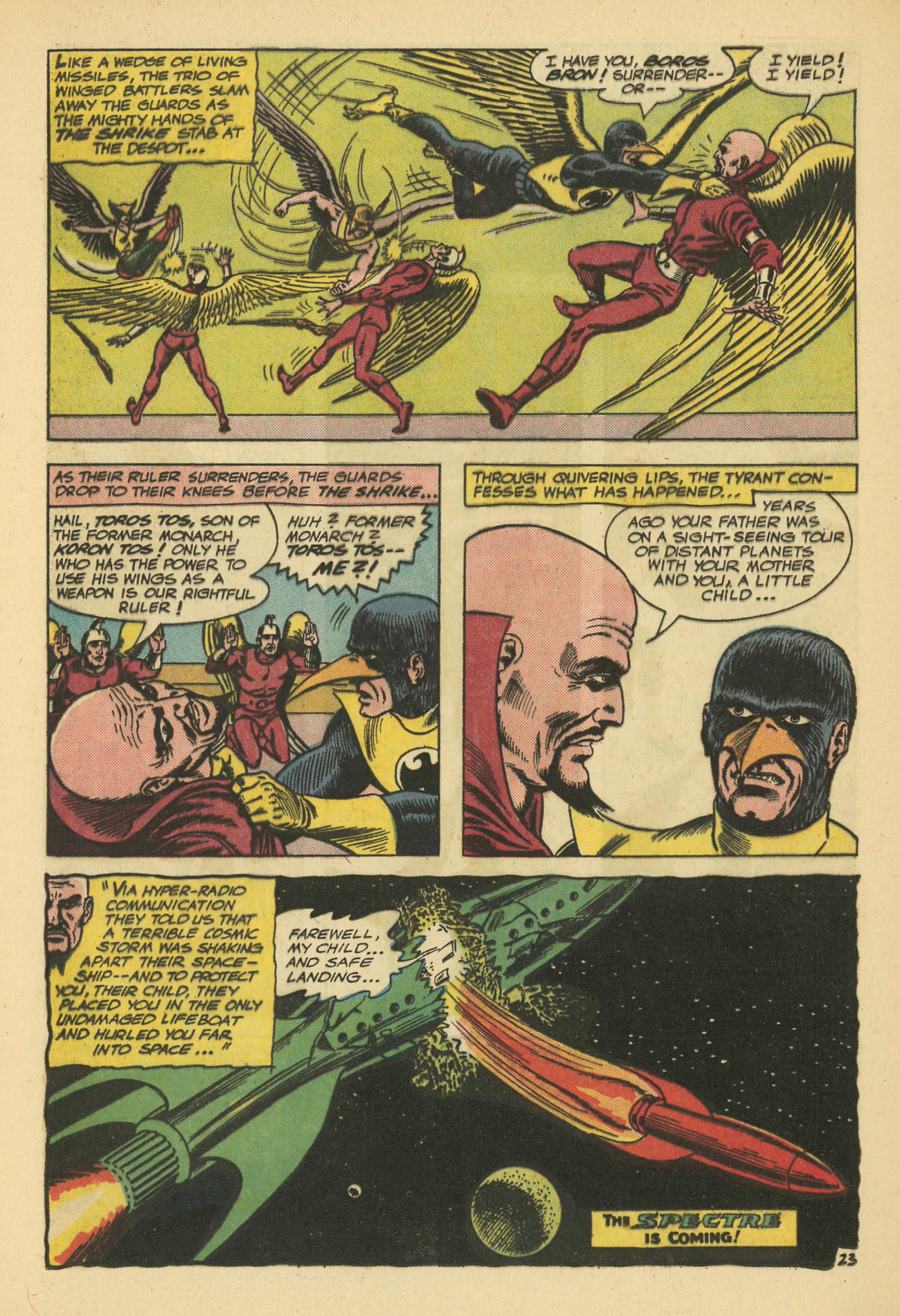 Hawkman (1964) issue 11 - Page 32