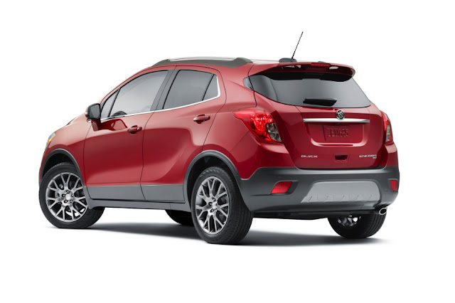 2016 Buick Encore Sport Touring - Rear